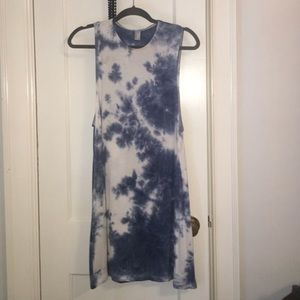 American Apparel Tie-dye Dress